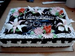 #п85(1) торт на юбилей 60 лет