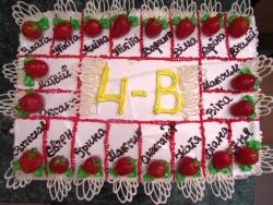 #п95(37) торт в школу для класса