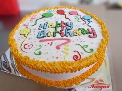 #п95(40) торт Happy Birthday