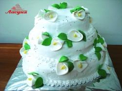 #с135 (23) Свадебный торт с калами