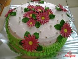 #с135 (27) Свадебный торт маленький