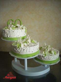 #с135 (45) торт на годовщину свадьбы