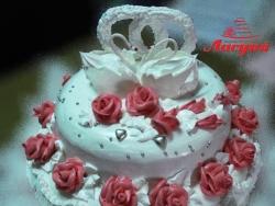 #с135 (8) Свадебный торт