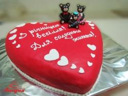 #с180 (8) торт на годовщину свадьбы