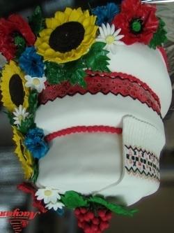 #c220 (28) свадебный торт в украинском стиле