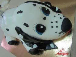 #д180(46) торт щенок Далматинец