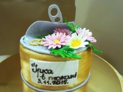 #д180(47) торт прикол банка икры