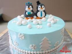 #п180(28) торт Пингвины