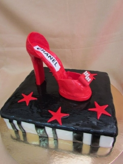 #п250(21) торт туфелька
