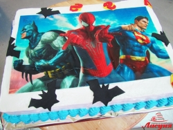 #д160(56) фото торт Супергерои