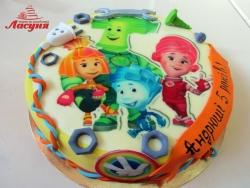 #д200(30) фото торт Фиксики