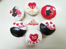 #кап13 капкейки на годовщину свадьбы