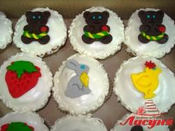 #кап14 капкейки на детский день рождения