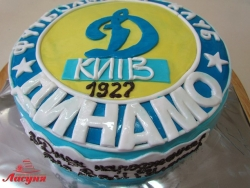 #п180(32) торт ФК Динамо Киев