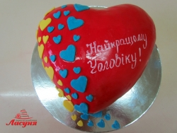 #п180(35) торт найкращому чоловіку, торт лучшему мужу