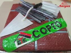 #п250(23) торт для компании БТБ Сорго, торт для строителя