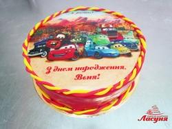 #д180(54) торт Тачки Молния Маквин