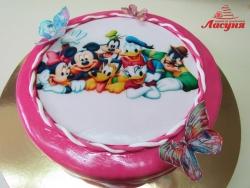 #д200(32) торт Микки Маус и друзья