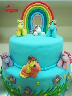 #д300(2) торт Пони