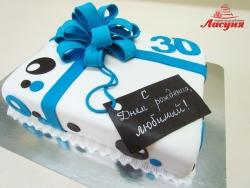 #п180(38) торт на 30 лет для любимого мужчины