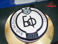 #п180(40) торт для Будівельного факультету ЧДТУ