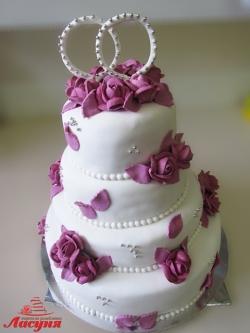#с180(56) Свадебный торт