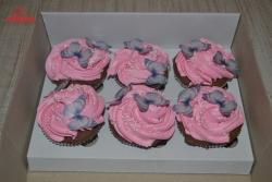 #кап(17) капкейки с бабочками для девушки