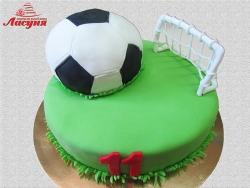 #д180(55) торт футбольное поле