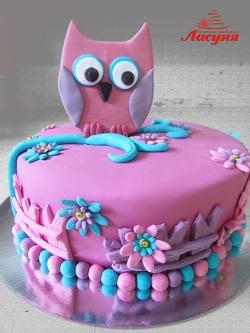#д200(34) торт Сова