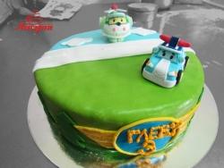#д250(5) торт Робокар Поли
