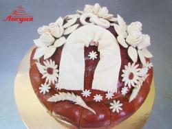 #к65(1) весільна хлібина, весільний коровай, свадебный каравай, свадебный хлеб