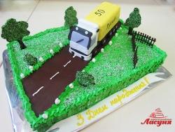 #п180(43) торт для водителя дальнобойщика