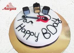 #п200(54) торт для Рокера