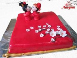 #п220(30) торт в китайском стиле
