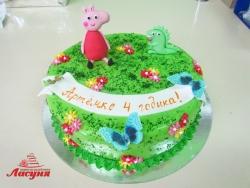 #д200(37) торт Свинка Пеппа