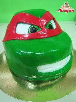 #д180(60) торт Ниндзя Черепашка