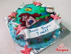 #д200(38) торт Русалочка