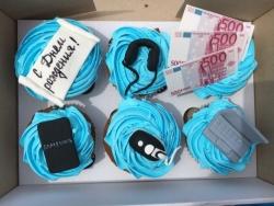 #кап(30) Капкейки для парня на день рождения
