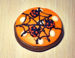#прян(1) пряник на Хеллоуин Паутинка