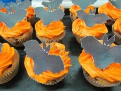 #кап(33) капкейки на Хеллоуин Летучая мышь
