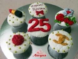 #кап(29) Капкейки для девушки на день рождения