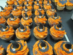#кап(34) капкейки на Хеллоуин Ведьмин Колпак