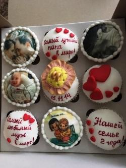 #кап(32) капкейки для любимого мужа и папы