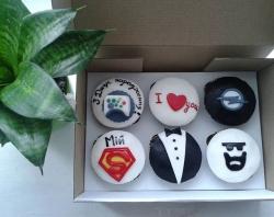 #кап(32) Капкейки для парня на день рождения