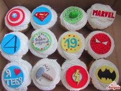 #кап38 капкейки Супергерои