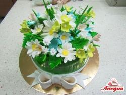 #п250(29) торт Весенний букет