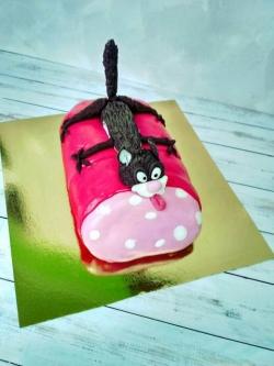#п220(45) торт Кот и Колбаса