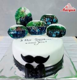 #п200(62) Торт на день народження для вчителя