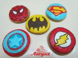 Пряники Супергерої